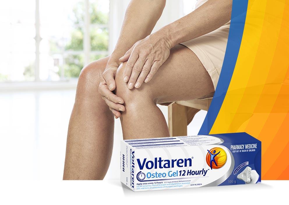 Voltaren Gel For Knee Arthritis